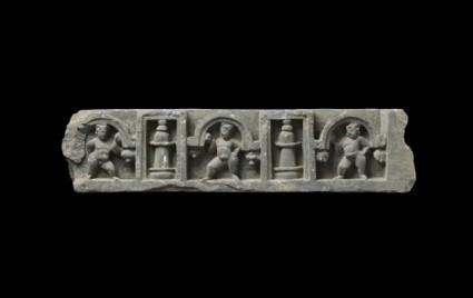 Frieze fragment depicting three putti