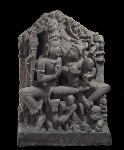 Figure of Shiva and Parvati (Uma-Maheshvara)