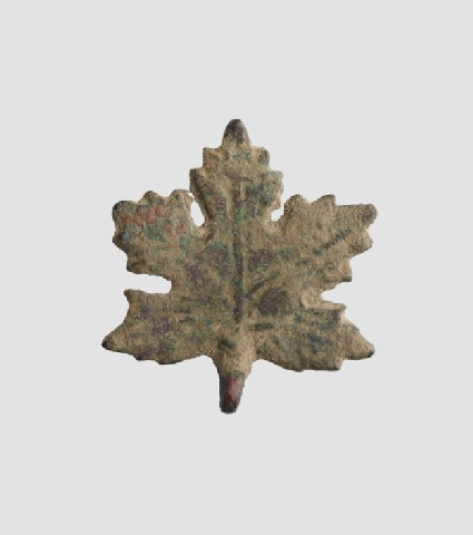 Vine-leaf ornament