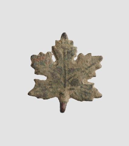 Vine-leaf ornament