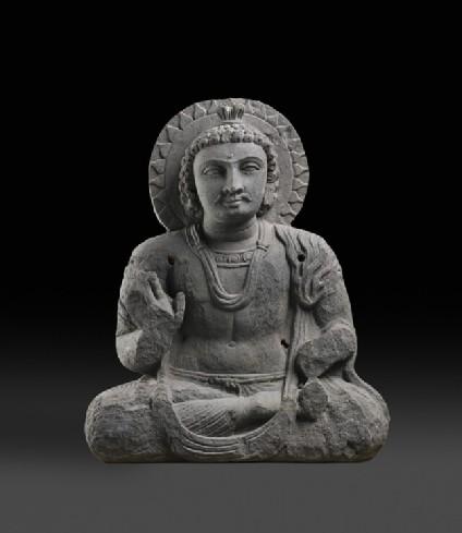 Seated Bodhisattva Maitreya