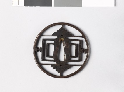 Round tsuba oblongs, half-flowers, and weights