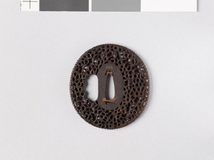Tsuba with scrollwork