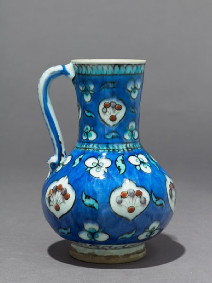 Jug with cusped medallions and çintamani motifs