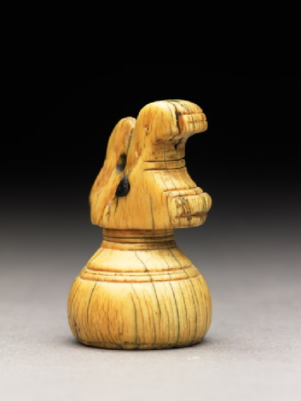 Ivory rook chess-piece