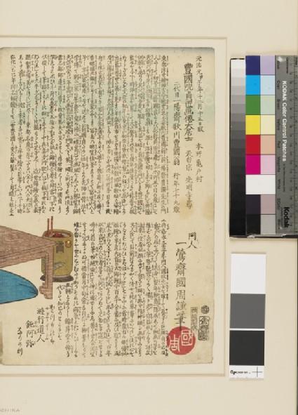 Memorial portrait of Kunisada