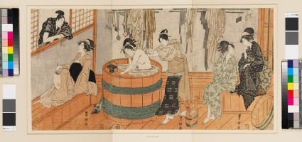 Women in a bath house