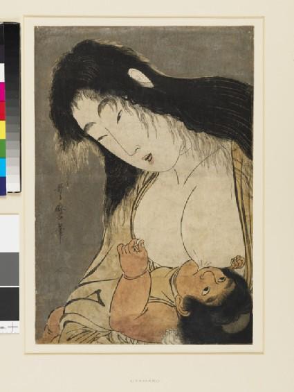Yamauba and Kintarō (Kintoki)