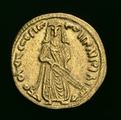 Standing Caliph dinar