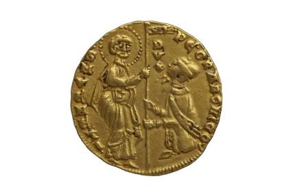Venitian gold coin (Doge Pietro Gradenigo)