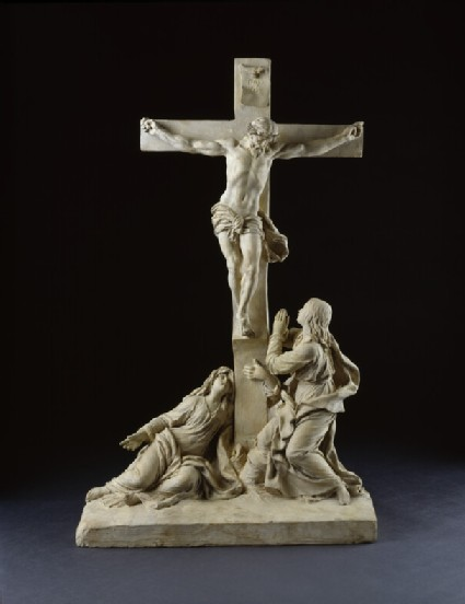 Crucifixion, with the Virgin Mary and Saint John the Evangelist