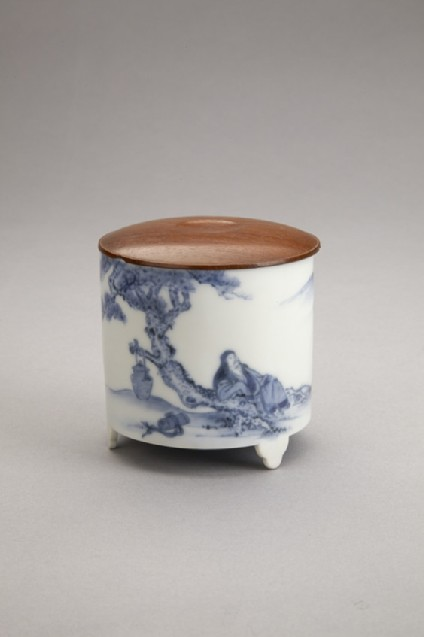 Incense burner with design of Chinese sage