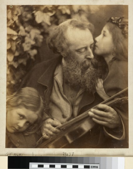 Portrait of The Whisper of the Muse (George Frederic Watts, Elizabeth Keown, Kate Keown)