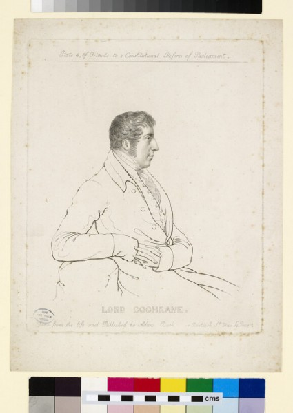 Portrait of Lord Cochrane