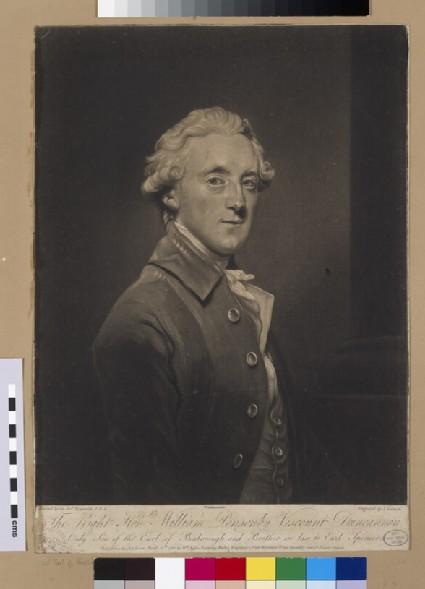 Portrait of Viscount Duncannon