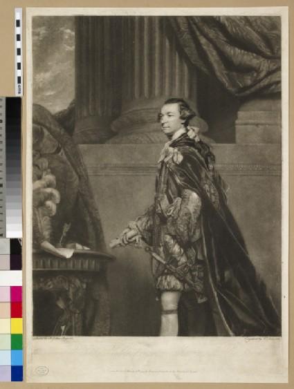 Portrait of Marquis of Rockingham