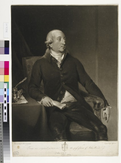 Portrait of J. Ward