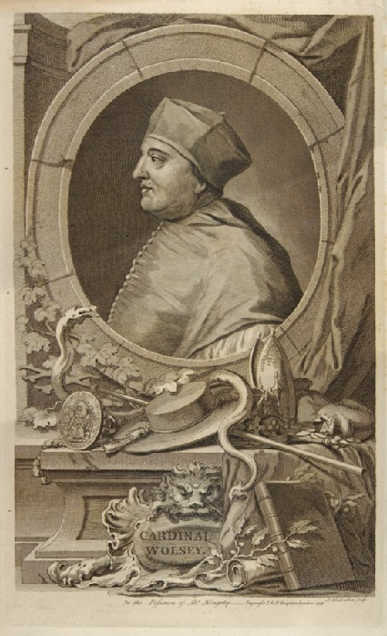 Portrait of Wolsey