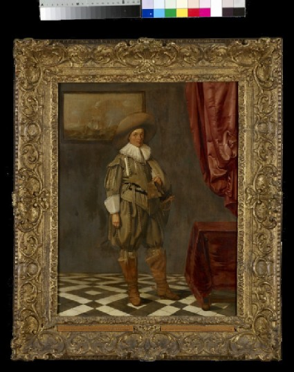 Portrait of a young Man standing