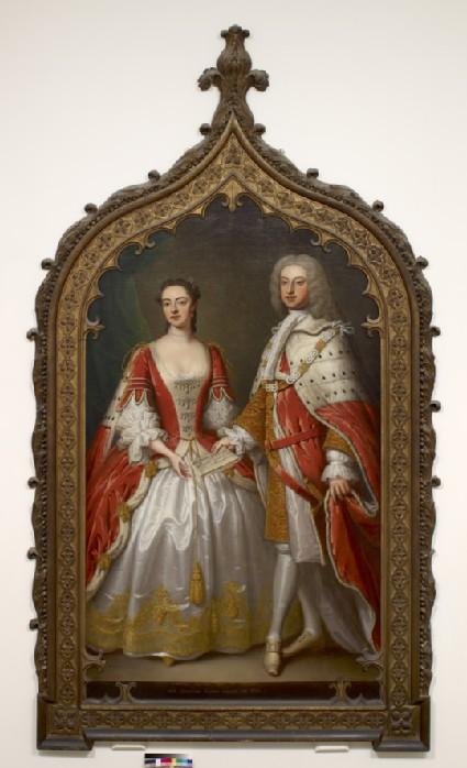 Thomas Fermor, 1st Earl of Pomfret and Henrietta Louisa, Countess of Pomfret