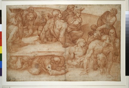 Group from the 'Last Judgement'