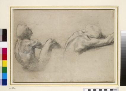 Recto: Two nude Studies<br />Verso: Two Studies of an elderly Man