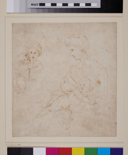 Two Studies of the Virgin and Child