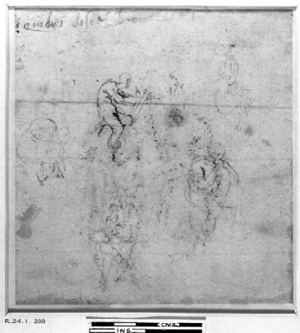Recto: Page from a Sketch Book<br />Verso: Page from a Sketch Book