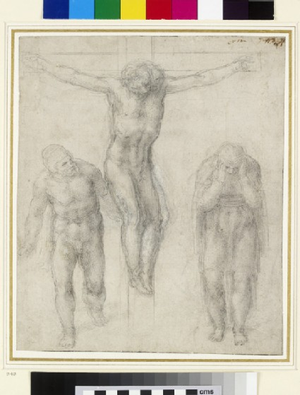 Recto: The Crucifixion