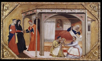 The Birth of the Virgin Mary