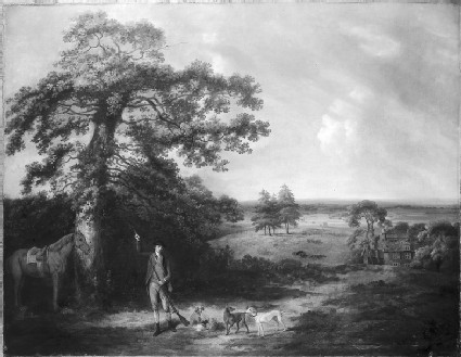 Landscape with a Sportsman
