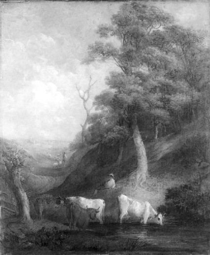 Landscape with Cattle and a Pond