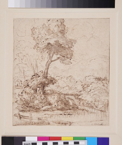 Landscape with Trees
