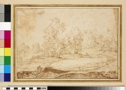 Landscape with Figures in the foreground