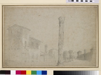 The Column of Phocas and the Campo Vaccino