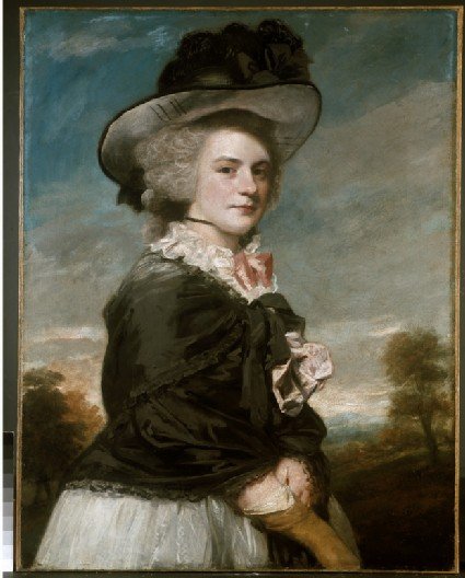Miss Elizabeth Keppel, later Mrs Thomas Meyrick