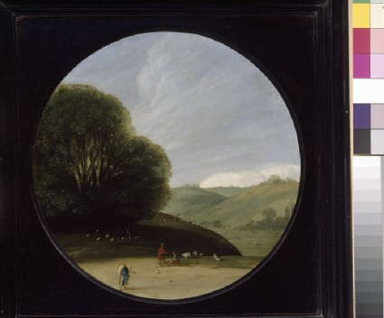 Landscape with pastoral Figures