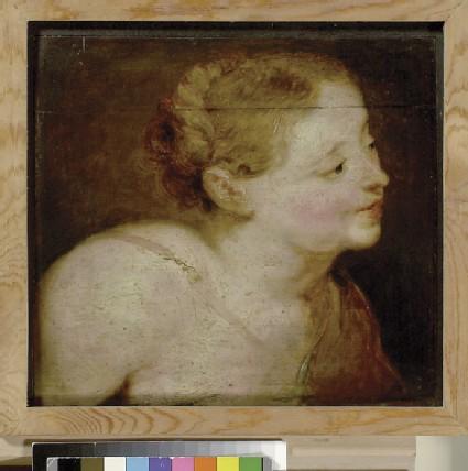 Head of a Huntress, possibly Diana