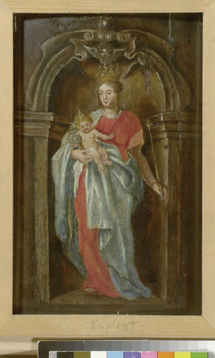 The Virgin and Child in a Niche