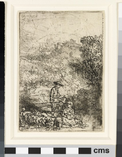 The Shepherd and his Family ('Het Hardertje')