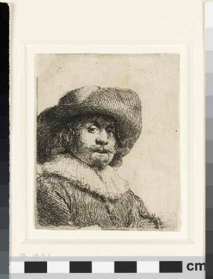 Man in a broad-brimmed hat