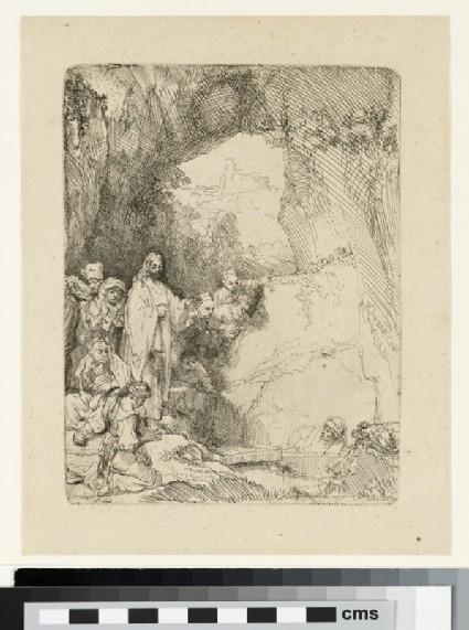 The Raising of Lazarus: small Plate (John 11: 1-44)