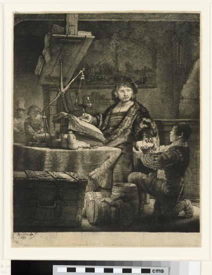 Portrait of Jan Uytenbogaert, 'The Goldweigher'
