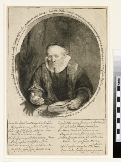 Portrait of Jan Cornelis Sylvius, Preacher