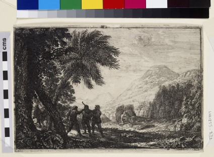 Scène de brigands (Landscape with brigands)
