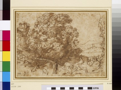 Study for the Flight into Egypt