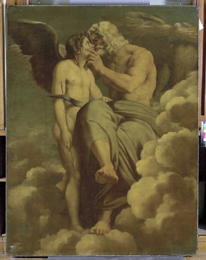 Jupiter and Cupid