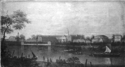 The Thames at Chelsea Hospital
