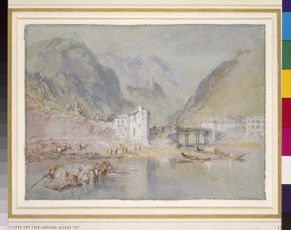 Scene on the Moselle: Alf and Burg Arras