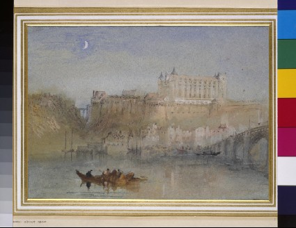 The Bridge and Château at Amboise